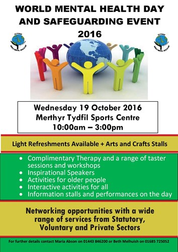 World Mental Health Day And Safeguarding Event 2016