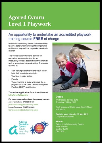 Level 1 play work